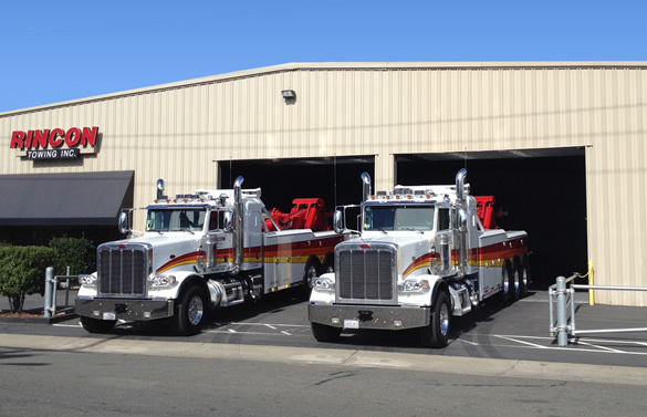 Trucks ready to roll